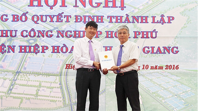 Bac Giang strives to complete infrastructure of Hoa Phu Industrial Park in first quarter 2019