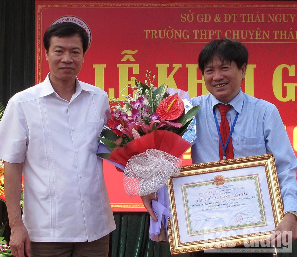 Nhà giáo Ưu tú Nguyễn Quang Thuấn, làm hết trách nhiệm, lương tâm của người thầy