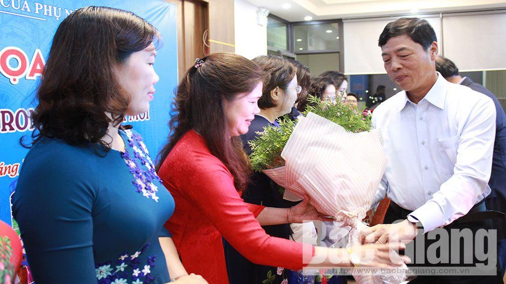 Ban Vì sự tiến bộ của phụ nữ tỉnh gặp mặt các nữ lãnh đạo, quản lý