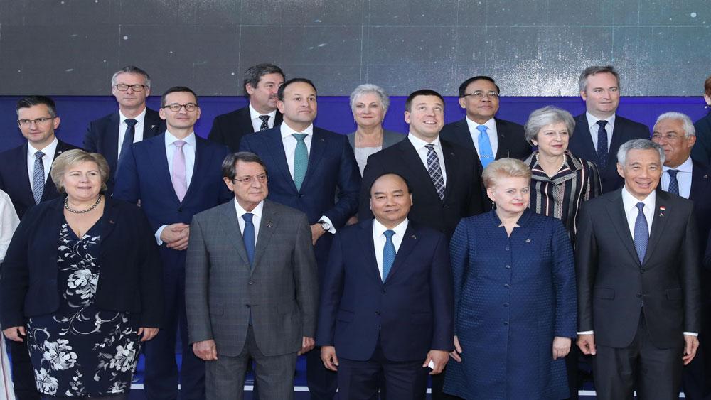 Thủ tướng Nguyễn Xuân Phúc đề xuất ASEM cần khẳng định vai trò tiên phong trong đẩy mạnh hợp tác đa phương