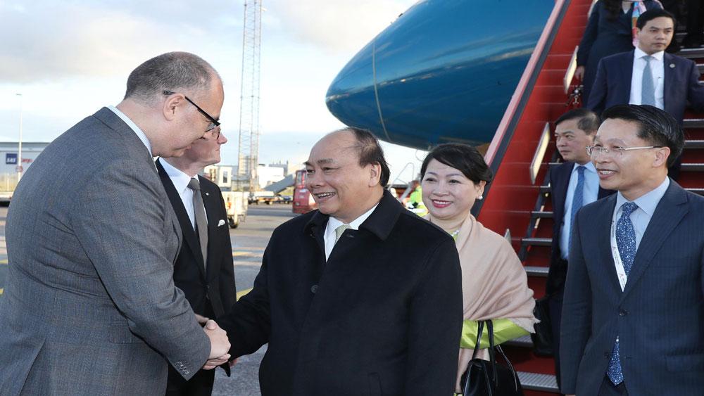 Thủ tướng Nguyễn Xuân Phúc đến Copenhagen, bắt đầu tham dự P4G và thăm chính thức Vương quốc Đan Mạch