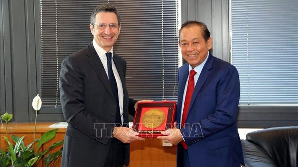 Vietnam, Italy seek to promote judicial cooperation