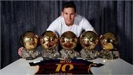 Messi được vinh danh là VĐV xuất sắc nhất mọi thời đại