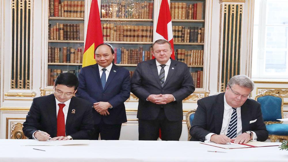 Thủ tướng Nguyễn Xuân Phúc hội đàm với Thủ tướng Đan Mạch