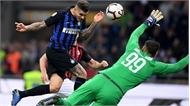 Icardi ghi bàn phút cuối, Inter Milan thắng trận derby AC Milan