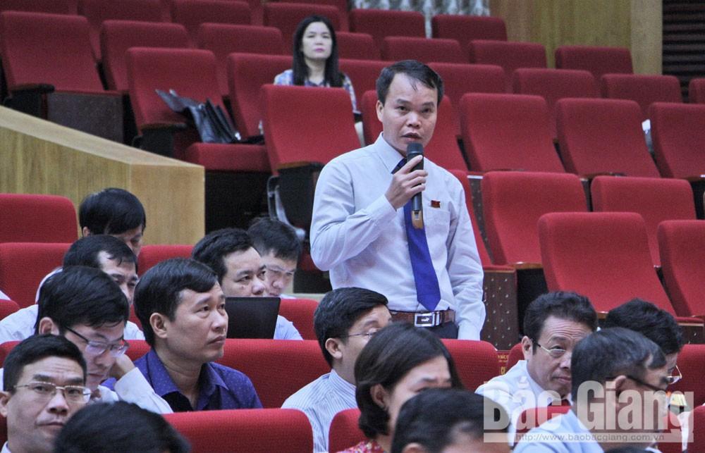 Bắc Giang, HĐND tỉnh, chất vấn, hiệu quả, bảo đảm chất lượng
