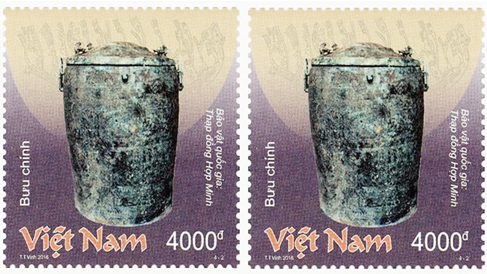 Vietnam's bronze treasures featured on stamps