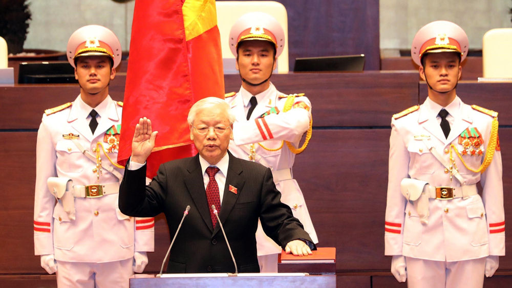 General Secretary Nguyen Phu Trong elected Vietnamese President