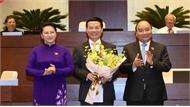 Thông qua Nghị quyết phê chuẩn bổ nhiệm chức vụ Bộ trưởng Bộ Thông tin và Truyền thông đối với ông Nguyễn Mạnh Hùng