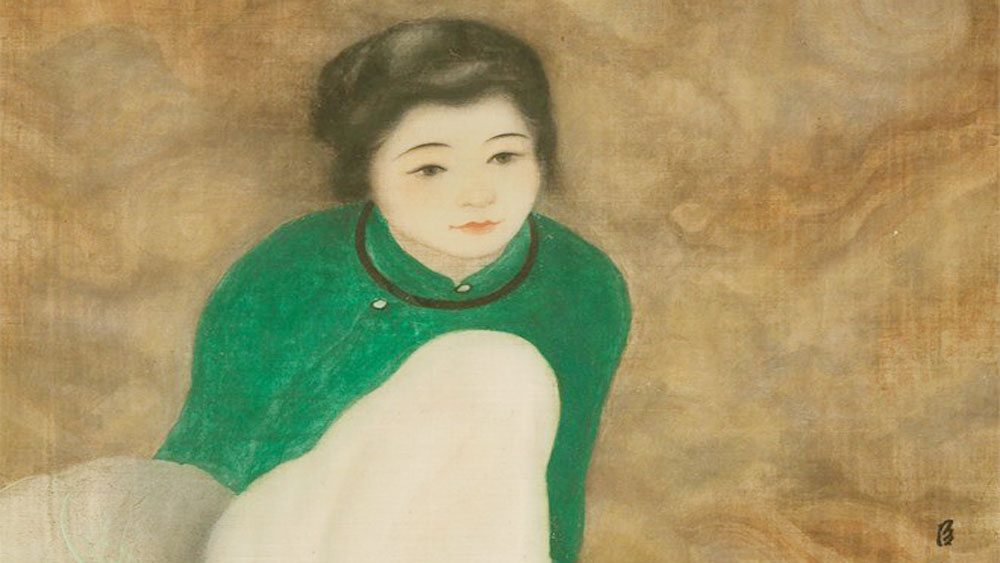 Painting by Vietnamese artist sets record at Paris auction