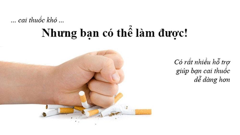 Vận động người thân không hút thuốc lá