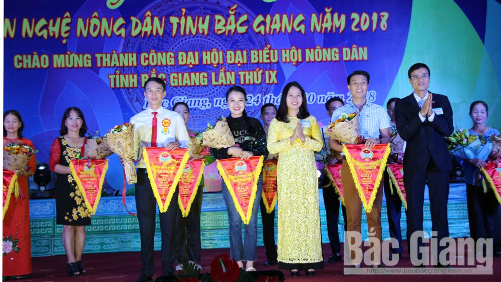 Hội diễn văn nghệ nông dân tỉnh Bắc Giang năm 2018