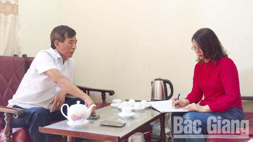 Bắc Giang, chiếm đất, Nguyễn Văn Hùng, phường Thọ Xương, TP Bắc Giang, tố cáo