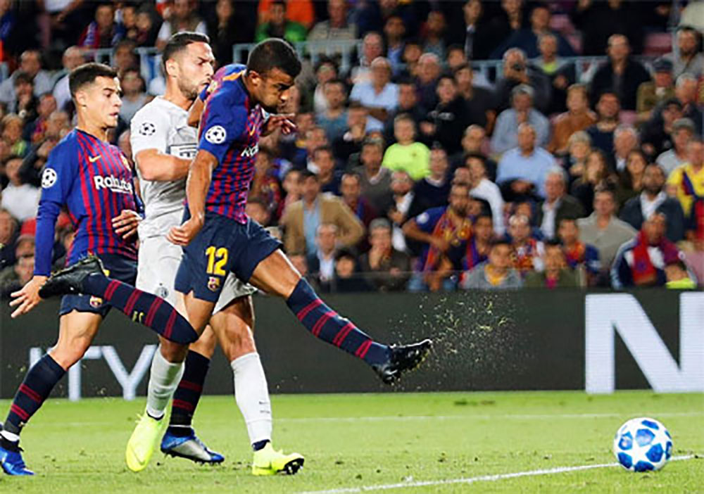 Barca thắng Inter dù thiếu Messi