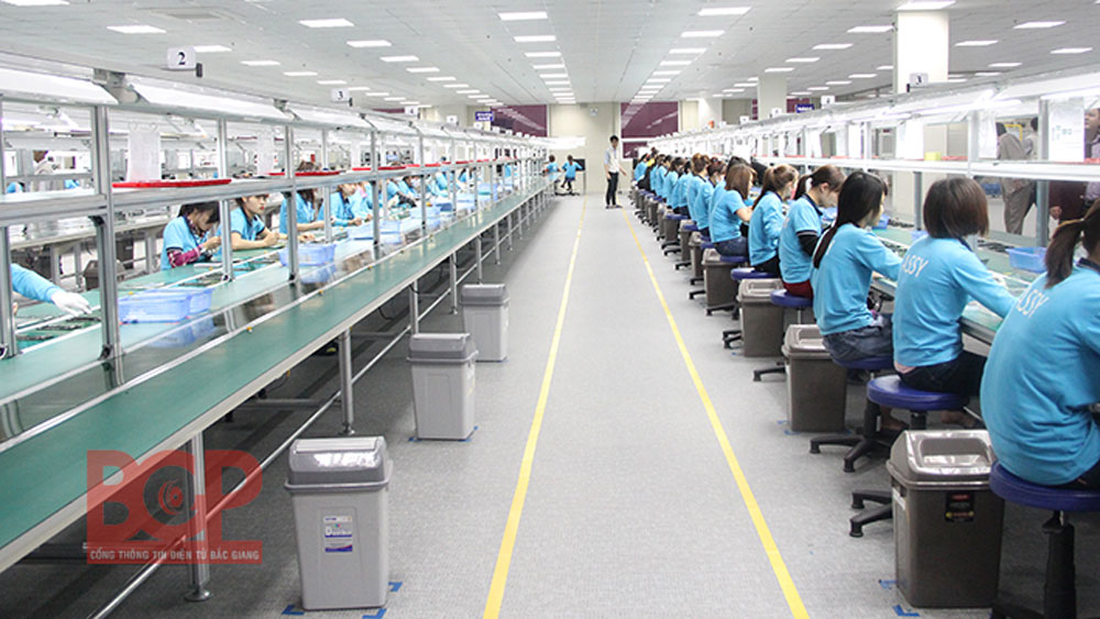 Technology assessment in 50 Bac Giang's enterprises
