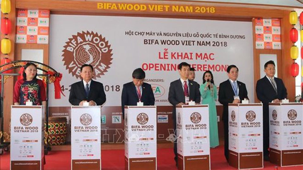 International wood fair opens in Binh Duong