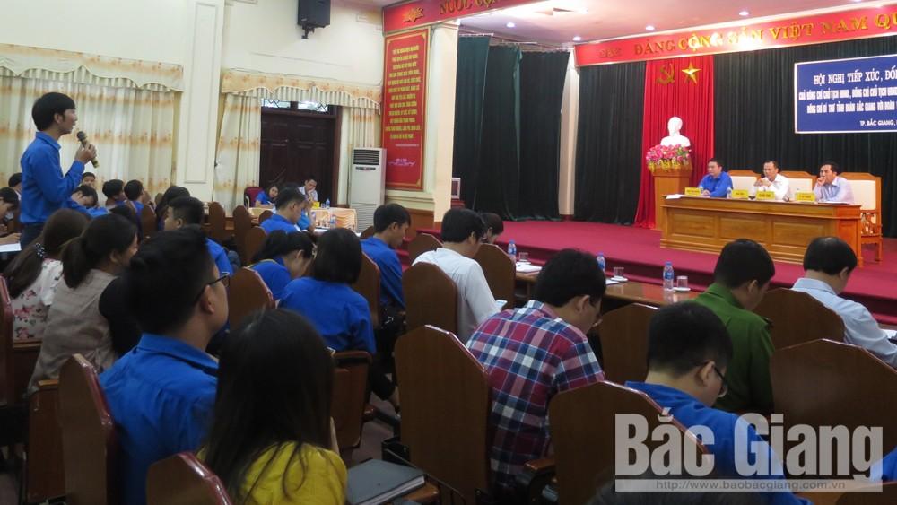 Đoàn viên thanh niên TP Bắc Giang kiến nghị quan tâm giải quyết việc làm