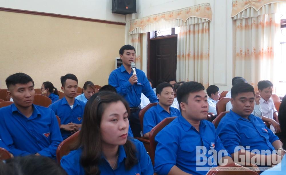 TP Bắc Giang  Giải đáp những vấn đề đoàn viên thanh niên quan tâm