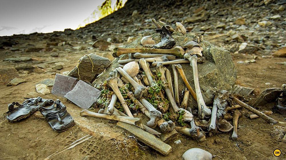 Bí ẩn, hồ xương người, Uttarakhand, Ấn Độ
