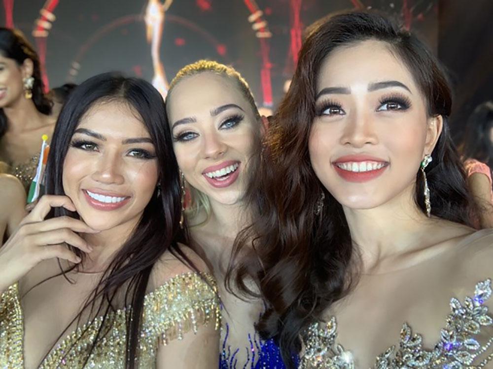 Phương Nga, lội ngược dòng, top 10, Miss Grand International 2018