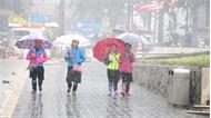Không khí lạnh gây ra mưa rào và dông cho các tỉnh vùng núi phía Bắc