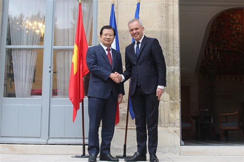 Phó Thủ tướng Trịnh Đình Dũng, Việt-Pháp, Quan hệ Việt Nam-Pháp, Đối tác chiến lược