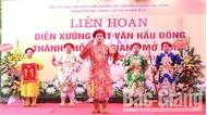 Liên hoan diễn xướng hát văn hầu đồng TP Bắc Giang