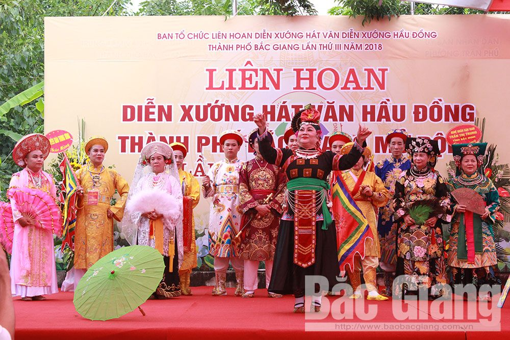 Bắc Giang, diễn xướng, hầu đồng, tín ngưỡng, dân gian, bảo tồn, truyền thống