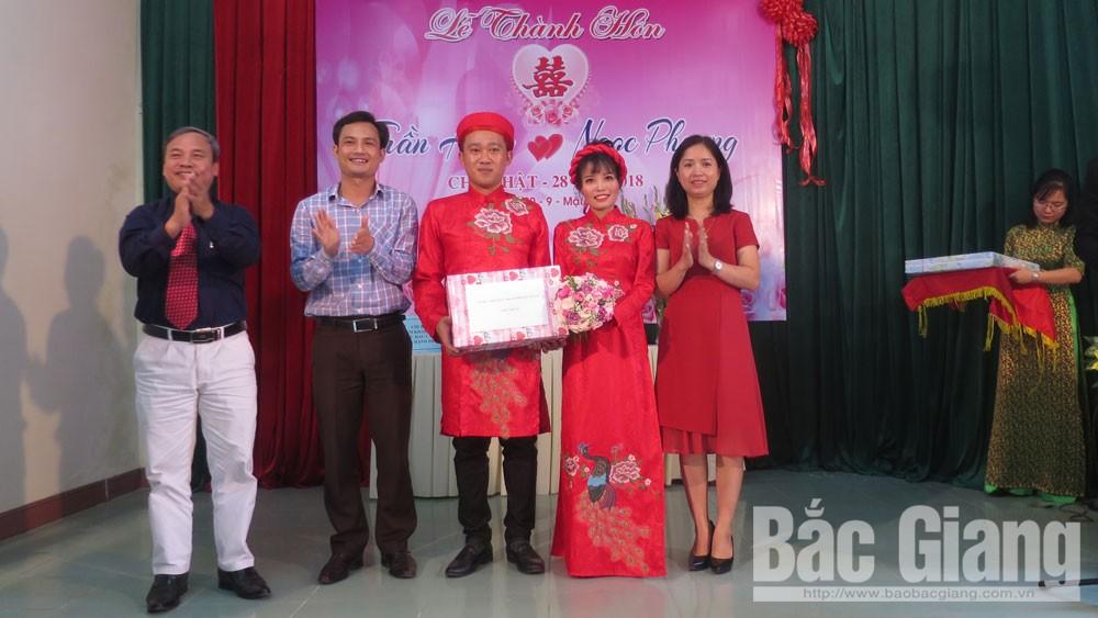 TP Bắc Giang tổ chức điểm đám cưới văn minh, tiết kiệm