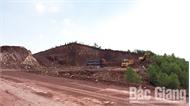 Lợi dụng thi công cao tốc Bắc Giang - Lạng Sơn để khai thác đất trái phép