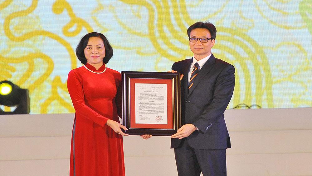 Phó Thủ tướng Chính phủ Vũ Đức Đam dự khai mạc Lễ hội văn hóa, thể thao và du lịch quốc gia - Ninh Bình 2018