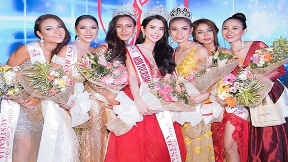 Cô gái Đồng Tháp đăng quang Hoa hậu Du lịch Thế giới