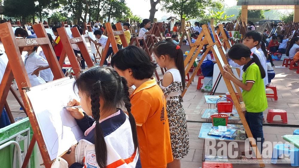 Hội thi vẽ tranh dành cho học sinh tiểu học