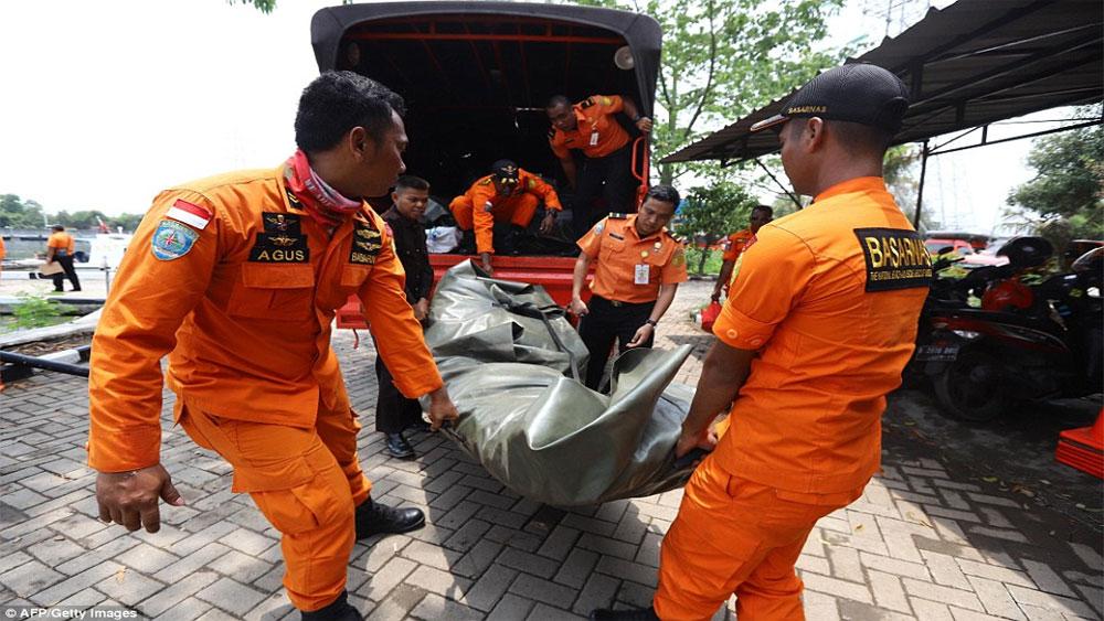 Giới chức Indonesia, xác nhận, sống sót, vụ máy bay Lion Air rơi