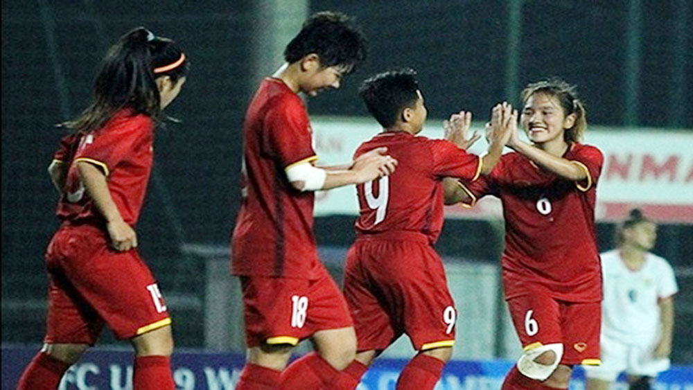 Vietnam, second round, AFC, U-19 Women's qualifiers, Group E, first qualification round, Captain Tuyet Ngan