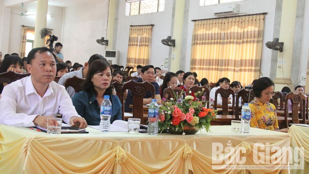cao cấp lý luận chính trị; khai giảng, Bắc Giang.