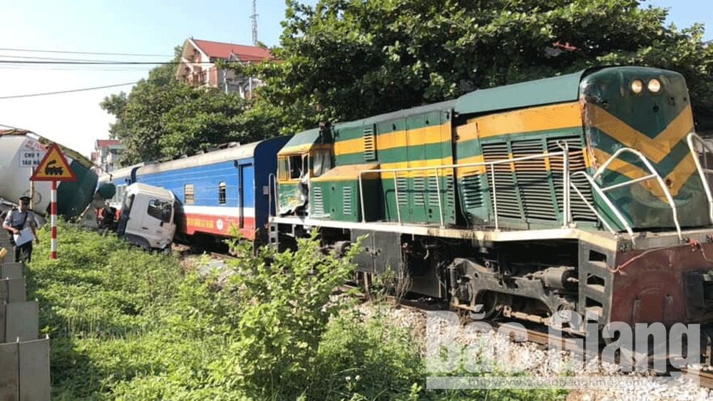 đường sắt, tai nạn, Lạng Giang