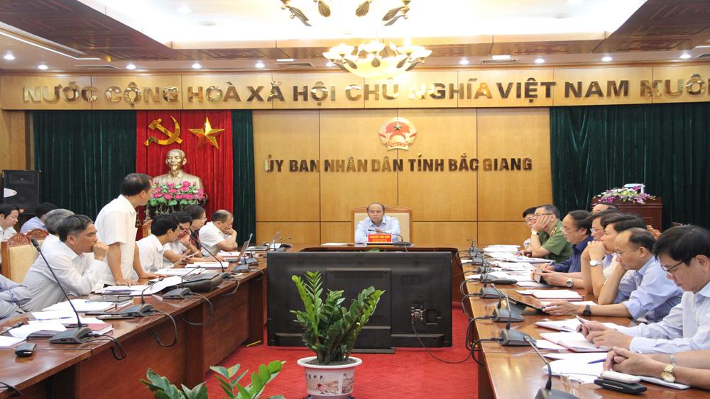 Bắc Giang tập trung chỉ đạo thực hiện nhiệm vụ phát triển KT-XH những tháng cuối năm