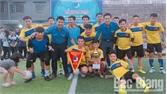 Giải bóng đá nam học sinh huyện Hiệp Hòa:  Trường THPT Hiệp Hòa số 2 giành giải Nhất