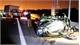 Ô tô tải thùng kín đâm biến dạng ô tô Mazda 3 trên cao tốc Hạ Long- Hải Phòng