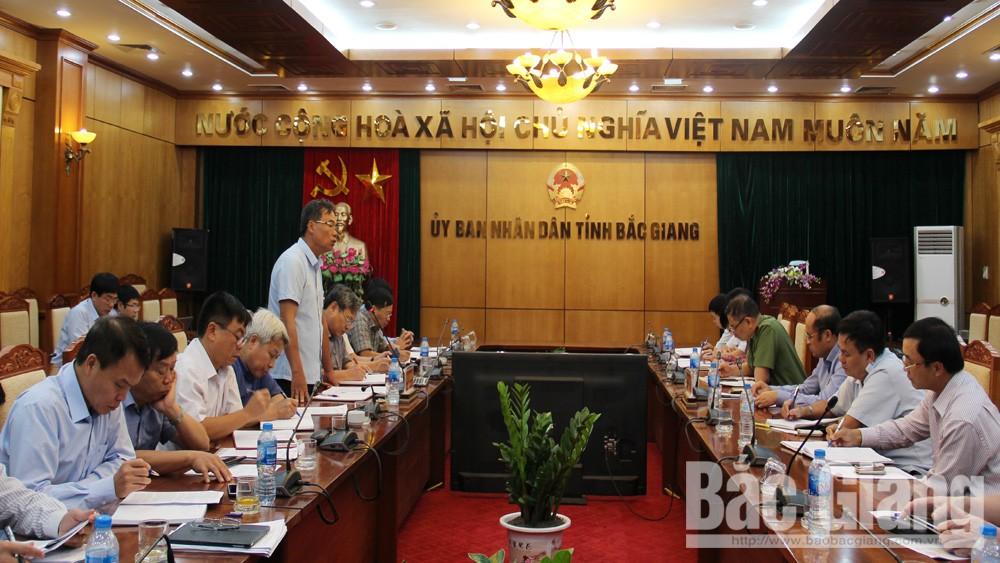 Bắc Giang; HĐND tỉnh giám sát; PCTN