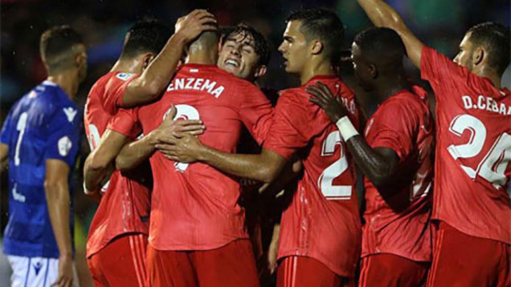 Real Madrid đại thắng trong trận HLV Solari ra mắt