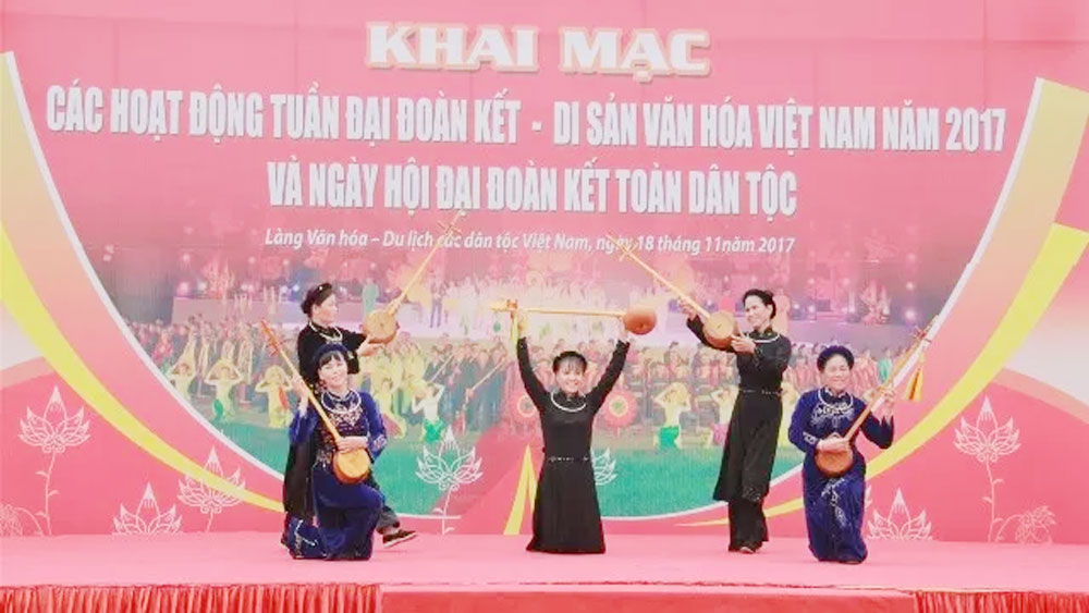 Week to highlight great national unity, Vietnam's cultural heritage
