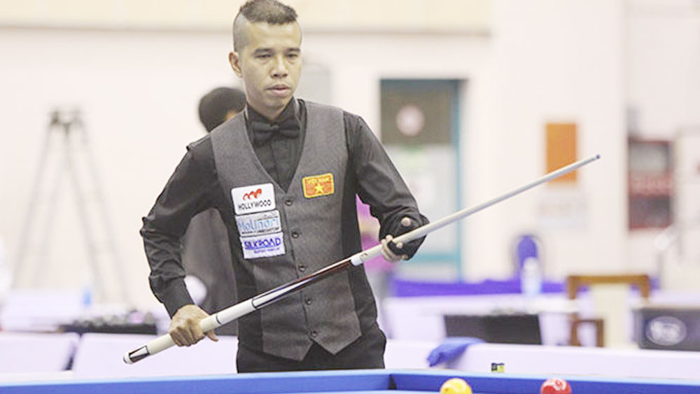 Chien sets new Vietnamese milestone in world billiards rankings