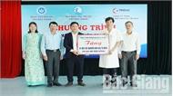 Bệnh viện Sản - Nhi tỉnh tiếp nhận máy xét nghiệm sinh hóa