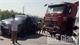 Xe đầu kéo va chạm với ô tô 7 chỗ, một người bị thương