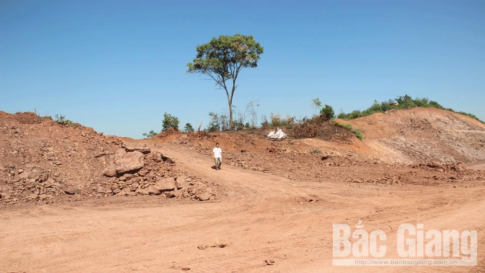 Bắt giữ, nhiều phương tiện, khai thác đất, trái phép, trên công trường, thi công cao tốc Bắc Giang – Lạng Sơn