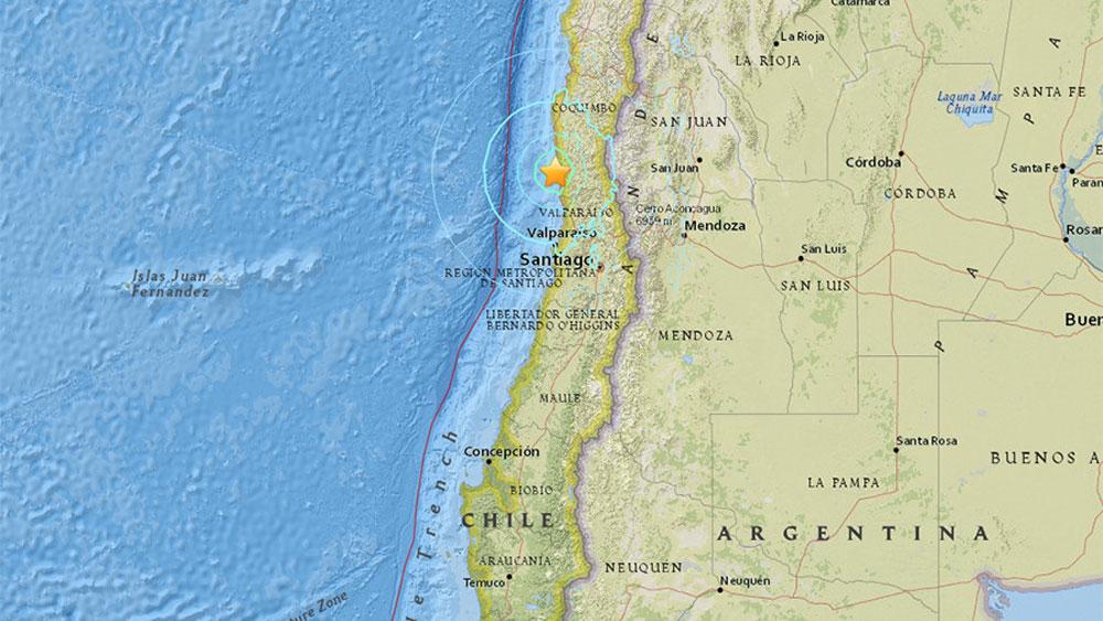 Chile lại rung chuyển vì động đất