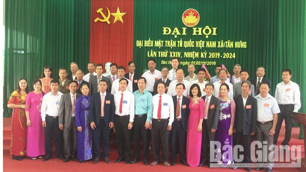 Lạng Giang: Đại hội điểm MTTQ cấp xã nhiệm kỳ 2019 - 2024
