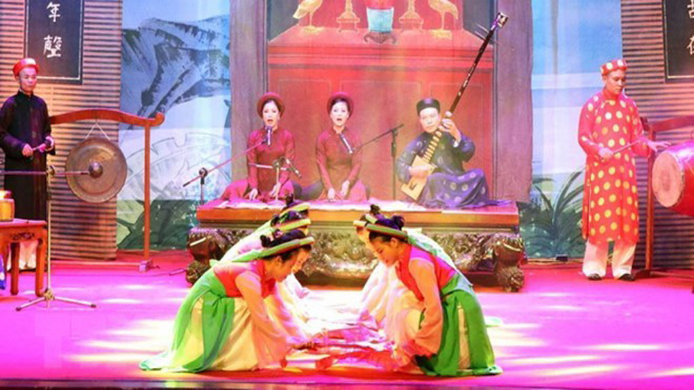 National festival, Ca Tru Festival, Ha Tinh province, artists and instrumentalists,  ceremonial singing, traditional genre of music, World Intangible Cultural Heritage, recreational and cultural activities